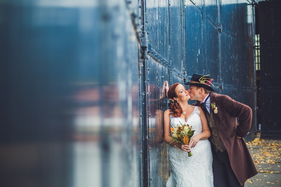 Jessica + Jeff | Calgary Steampunk Wedding At Heritage Park