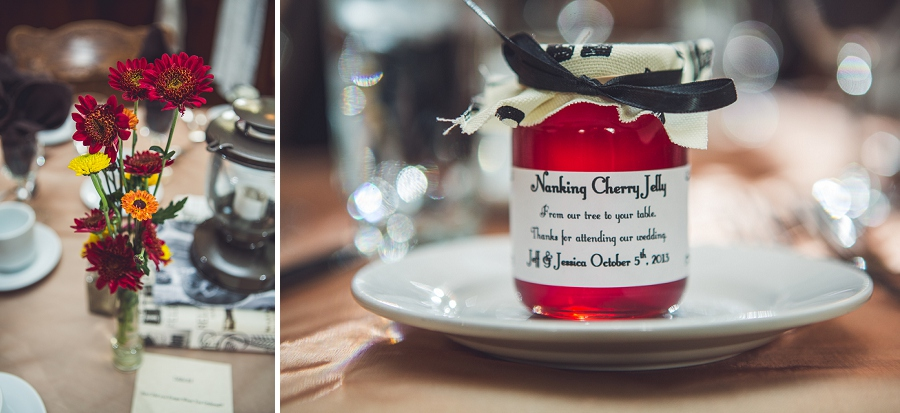 wedding reception favors calgary steampunk wedding photographer anna michalska heritage park