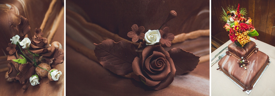 wedding cake chocolate calgary steampunk wedding photographer anna michalska heritage park