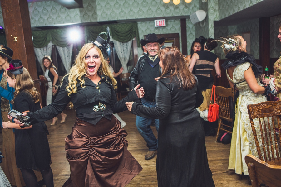 dancing calgary steampunk wedding photographer anna michalska heritage park