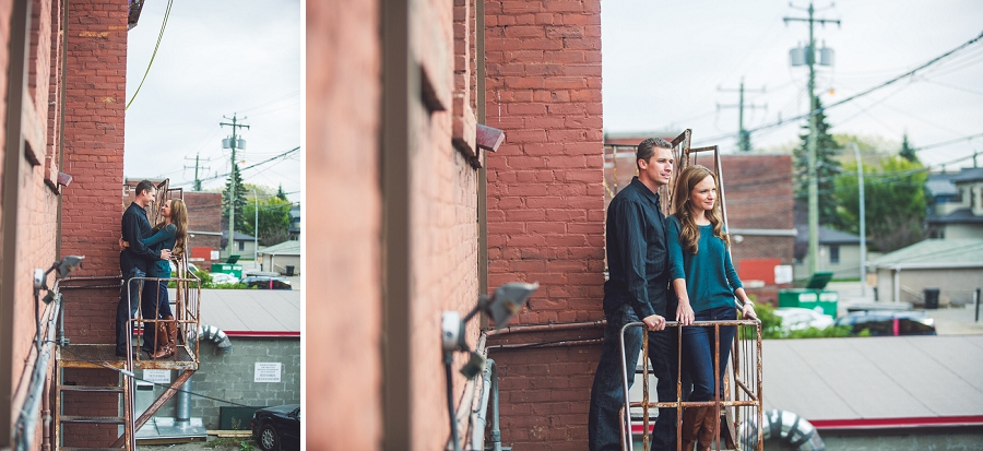 red brick inglewood wedding anniversary photography session calgary