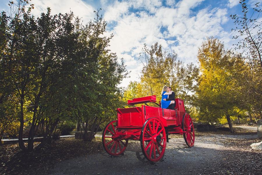 fish creek park calgary engagement photographer anna michalska red wagon