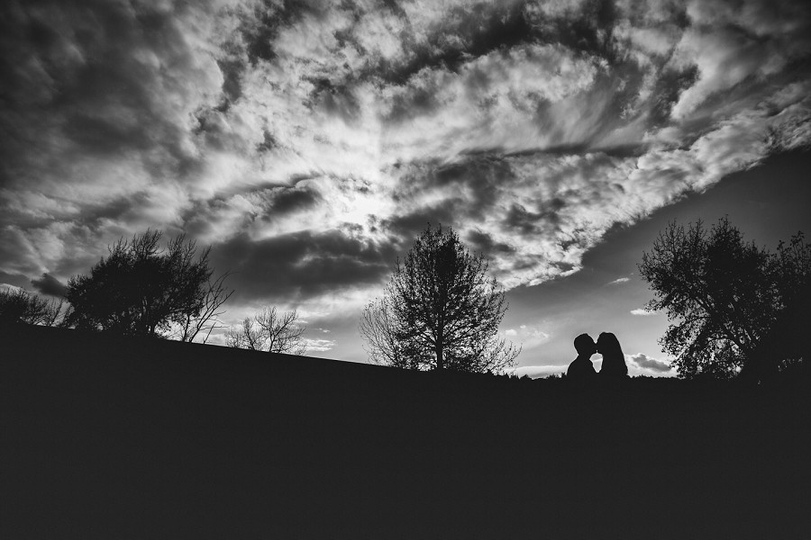 lisa + antonio { fish creek park calgary engagement session }