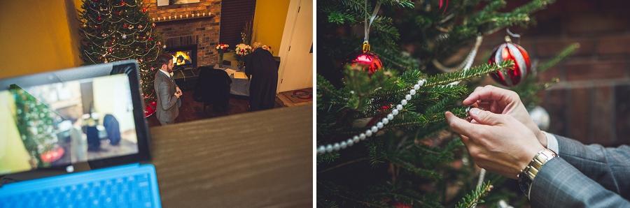 wedding bands christmas tree calgary wedding photographer anna michalska