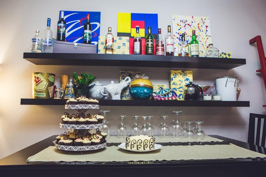 wedding cake calgary at home winter wedding anna michalska photography