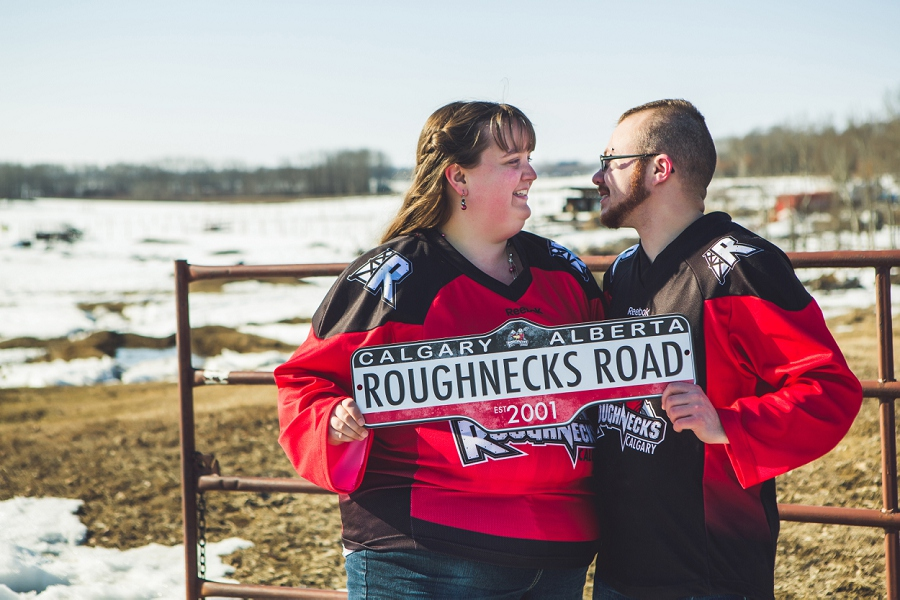rough necks couples engagement session fans calgary anna michalska photography