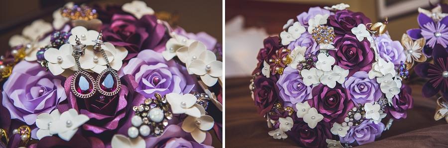 buffalo mountain lodge paper bouquet bride wedding anna michalska photography