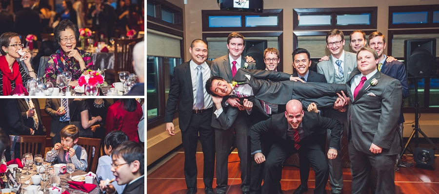 groom groomsmen silly silver springs golf course calgary wedding photographer anna michalska