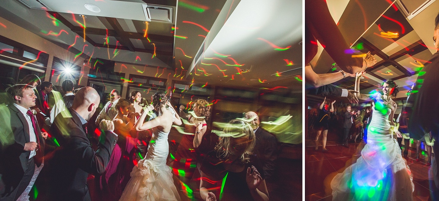 dancing with lighting painting silver springs golf course calgary wedding photographer anna michalska