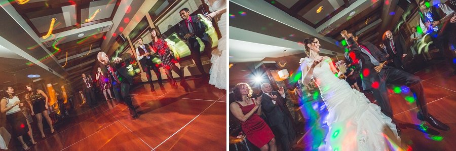 silver springs golf course calgary wedding photographer anna michalska light painting reception dancing