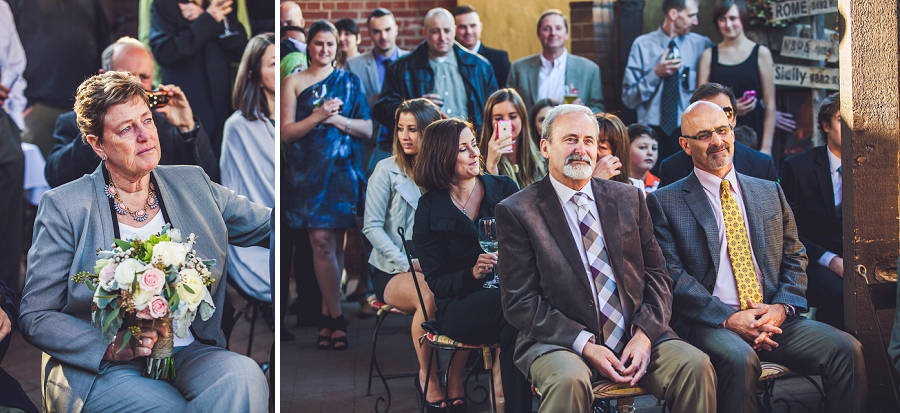 guests at wedding bonterra trattoria calgary wedding photographer anna michalska