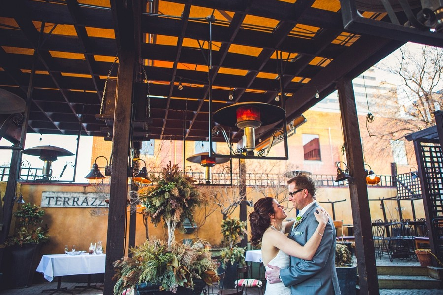 megan + michael { bonterra trattoria surprise wedding, calgary }