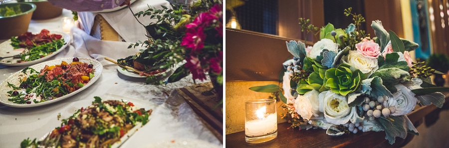 bonterra trattoria calgary wedding photographer anna michalska reception food