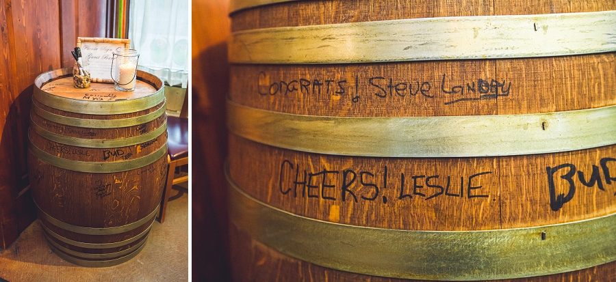custom wine barrel bonterra trattoria calgary wedding photographer anna michalska
