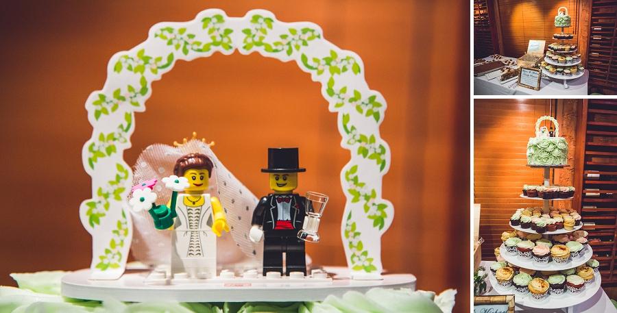lego cake topper bonterra trattoria calgary wedding photographer anna michalska