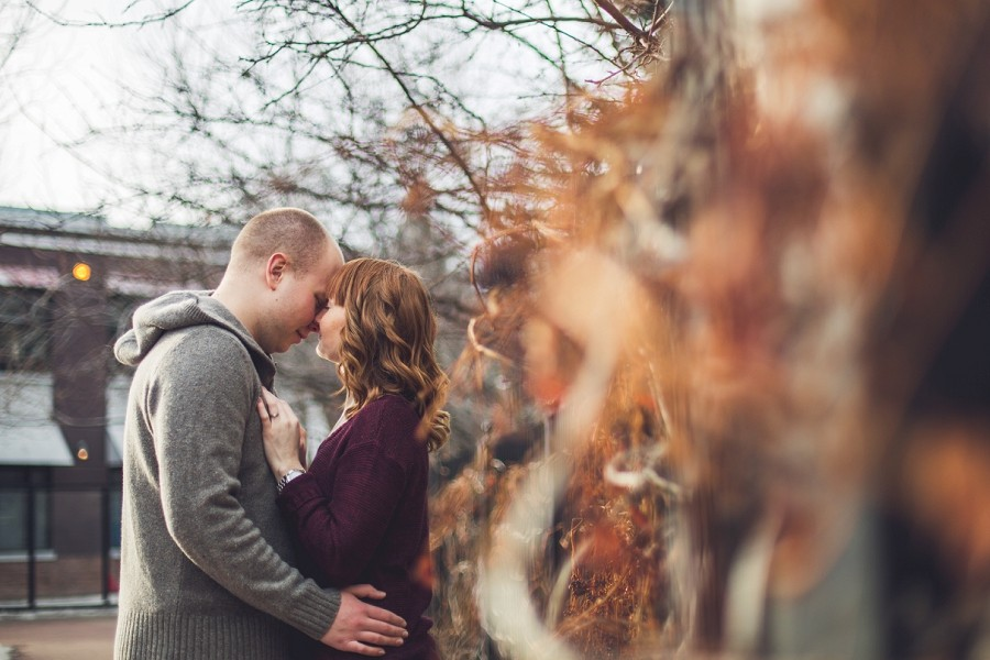 roanne + jordan { winter engagement session calgary }
