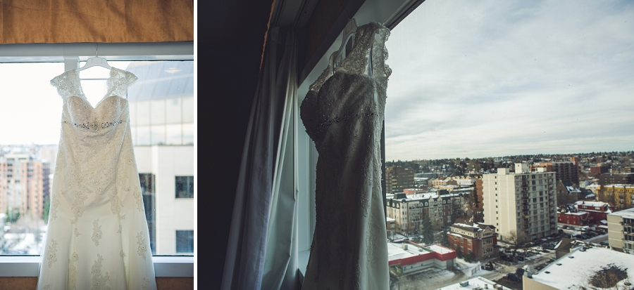 calgary wedding photographer anna michalska best western hotel bride getting ready