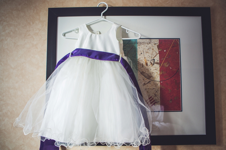 calgary wedding photographer anna michalska best western hotel flower girl dress