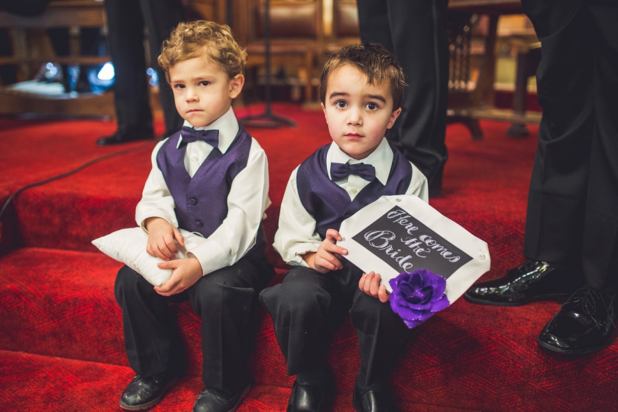 calgary wedding photographer anna michalska first baptist church ring bearers