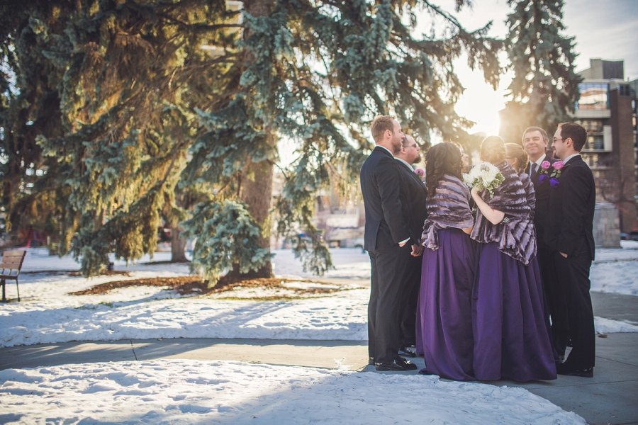 calgary wedding photographer anna michalska winter wonderland central memorial library
