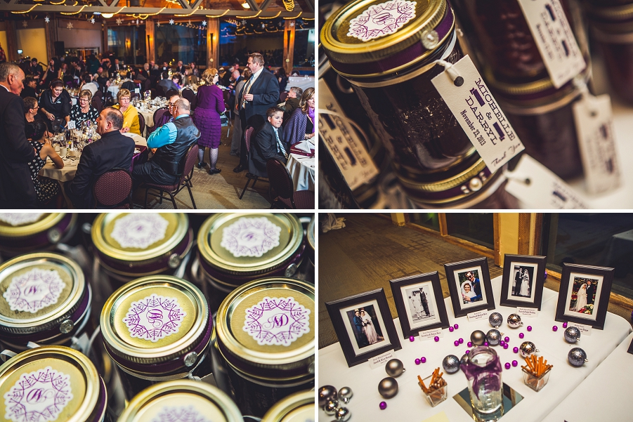 calgary wedding photographer anna michalska winter wonderland pinebrook golf & country club decor reception