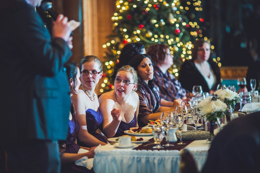 calgary wedding photographer anna michalska winter wonderland pinebrook golf & country club best man speech