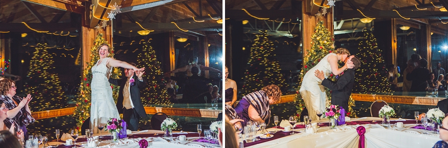 calgary wedding photographer anna michalska winter wonderland pinebrook golf & country club titanic kiss