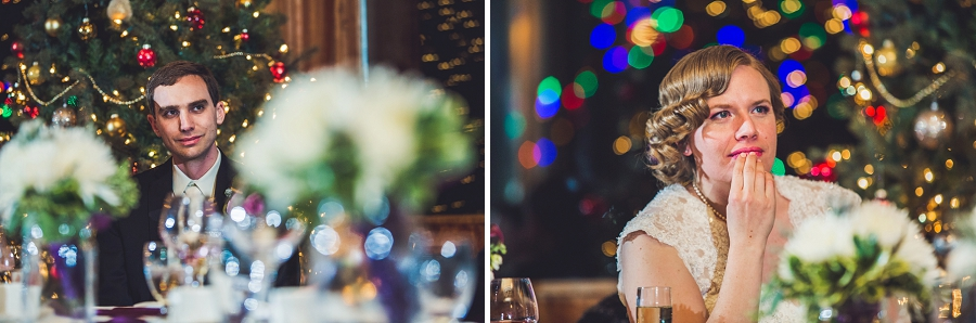 calgary wedding photographer anna michalska winter wonderland pinebrook golf & country club bride groom speeches