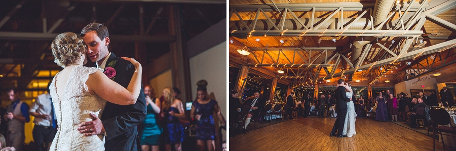 calgary wedding photographer anna michalska winter wonderland pinebrook golf & country club first dance