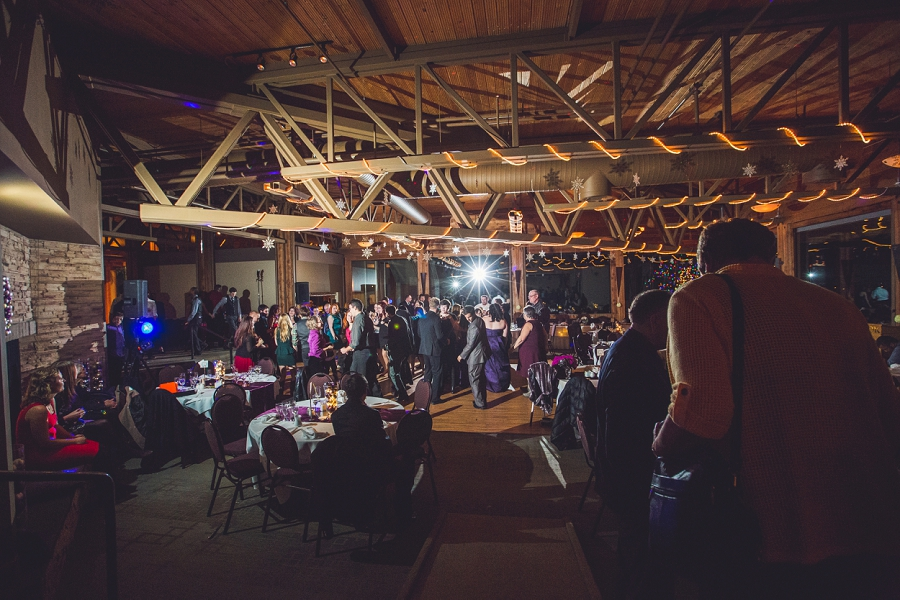 calgary wedding photographer anna michalska winter wonderland pinebrook golf & country club dancing guests