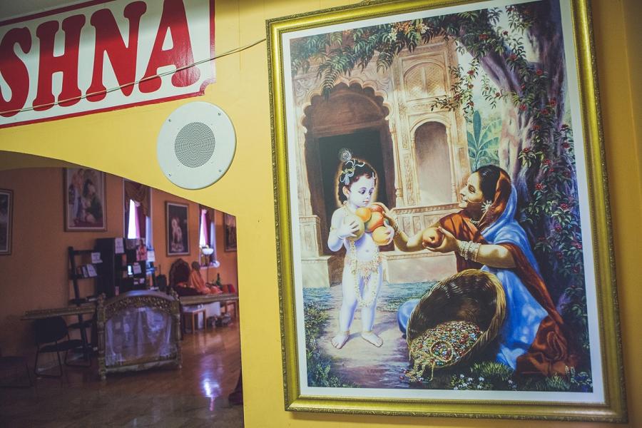 calgary hindu wedding hare krishna anna michalska hall
