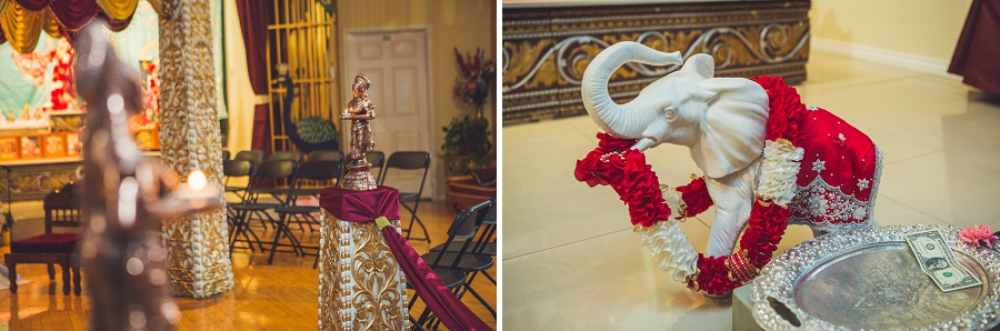 calgary hindu wedding hare krishna anna michalska elephant