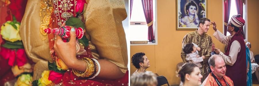 calgary hindu wedding hare krishna anna michalska bride