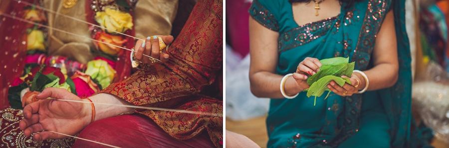 strings banana leaf calgary hindu wedding hare krishna anna michalska