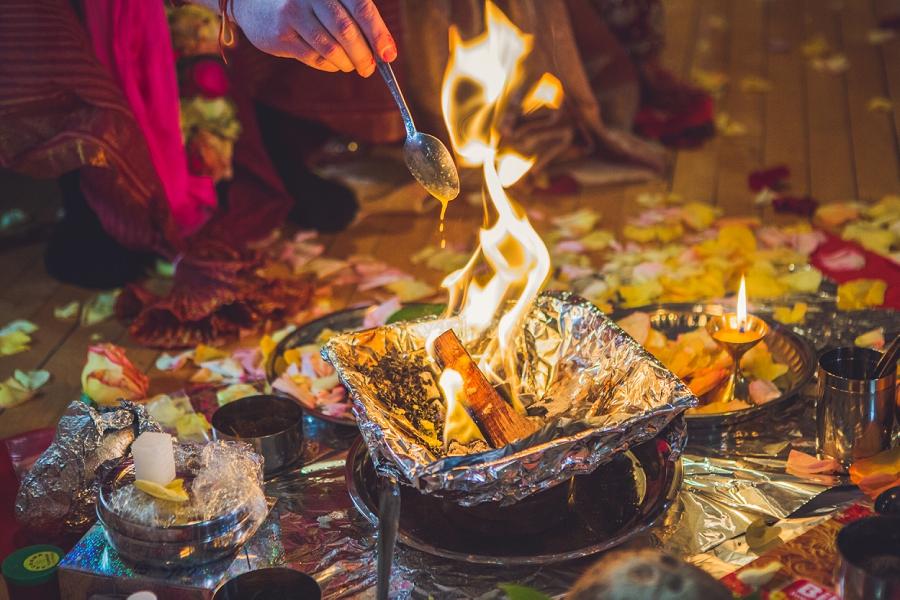 ghee into fire calgary hindu wedding hare krishna anna michalska