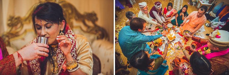 drinking of water bride calgary hindu wedding hare krishna anna michalska