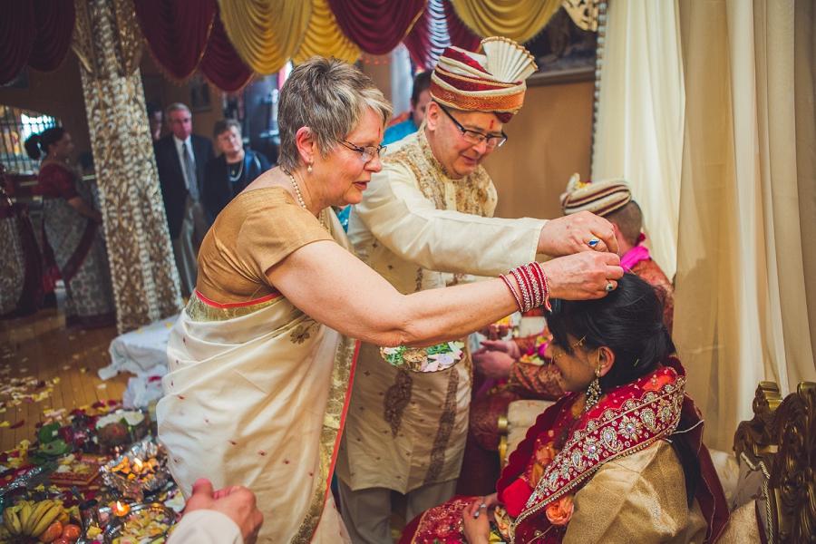 Aashirvad calgary hindu wedding hare krishna anna michalska