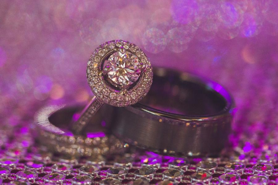 valley ridge golf calgary wedding photographer anna michalska wedding rings