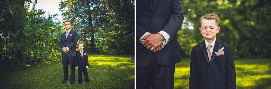 baker park wedding calgary wedding photographers anna michalska first look groom