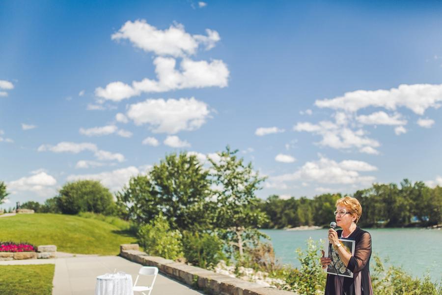 baker park wedding calgary wedding photographers anna michalska brenwyn cooley officiant