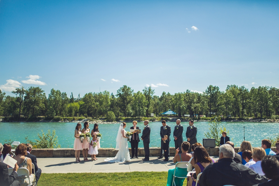 Nicole Mike Baker Park Wedding Calgary