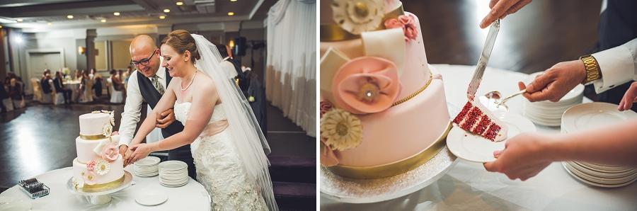 cake cutting executive royal inn calgary wedding photographers anna michalska