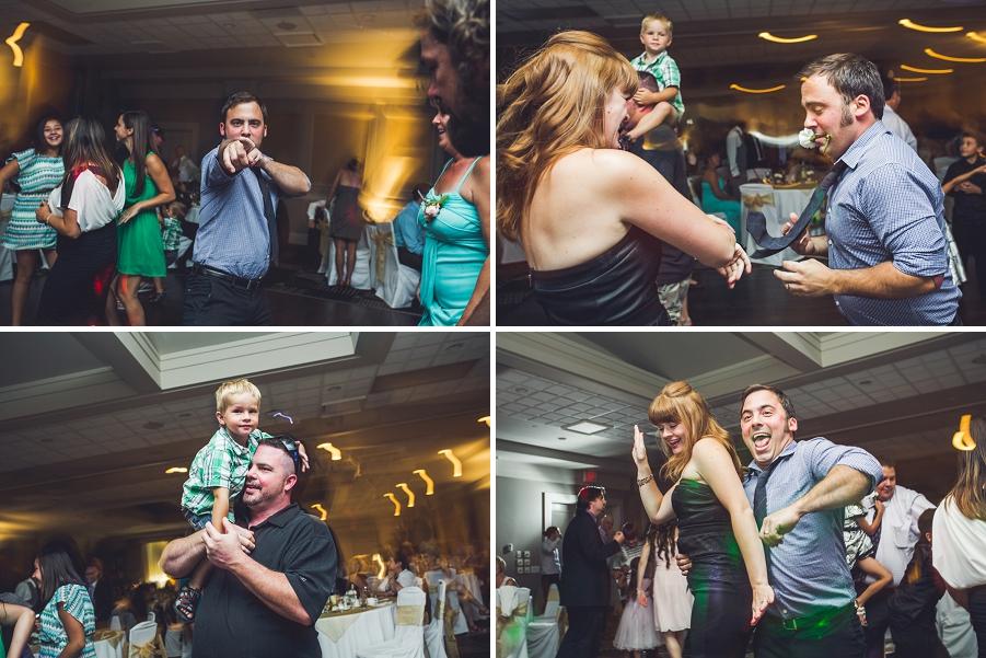 guests dancing executive royal inn calgary wedding photographers anna michalska