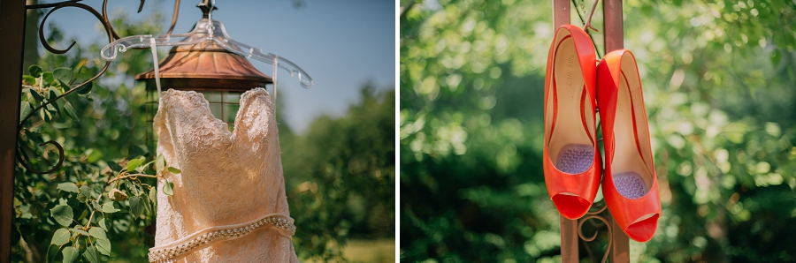 orange bridal shoes antique wedding dress spring valley chapel rustic wedding alberta calgary photographer anna michalska