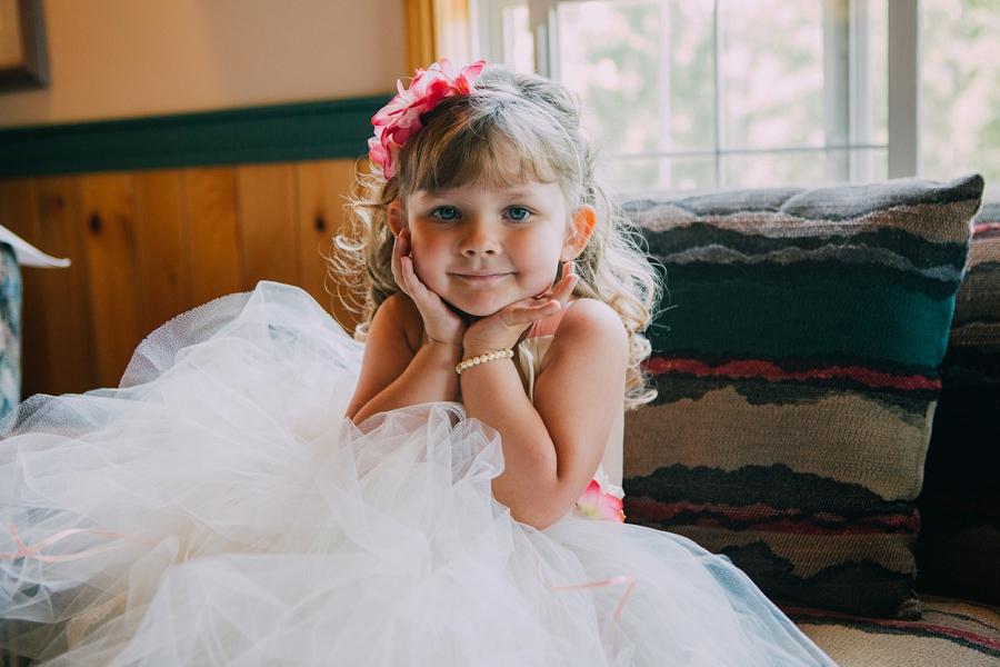 flower girl spring valley chapel rustic wedding alberta calgary photographer anna michalska