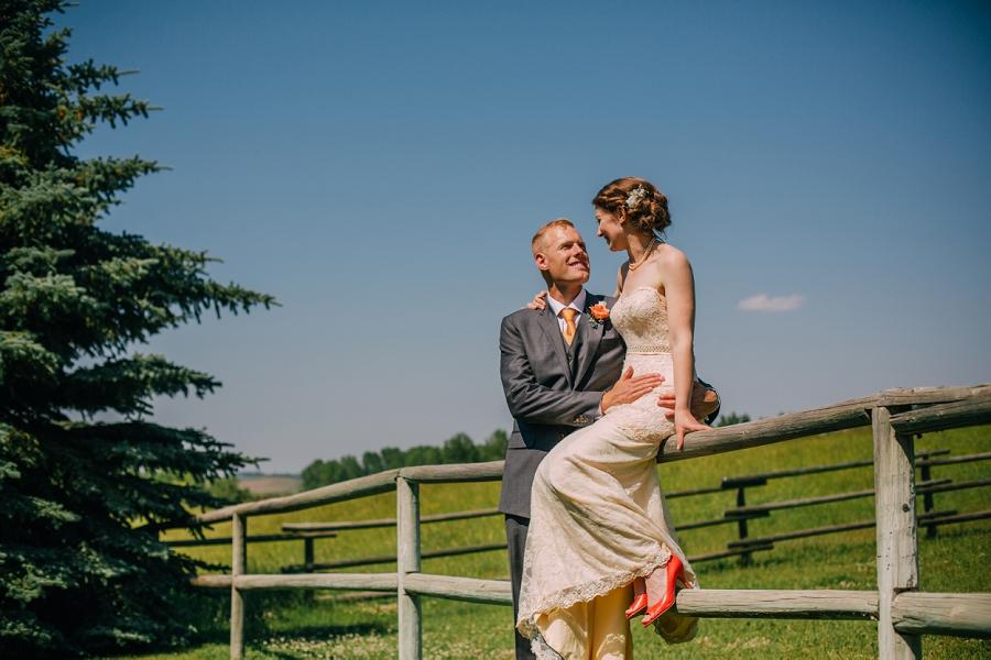 bride groom spring valley chapel rustic wedding alberta calgary photographer anna michalska