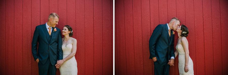 red barn bride groom spring valley chapel rustic wedding alberta calgary photographer anna michalska