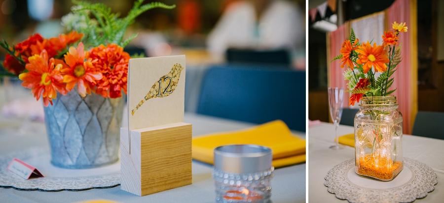 bird table settings orange millarville farmer's market rustic wedding alberta calgary photographer anna michalska