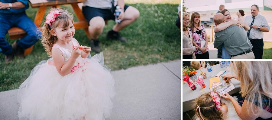 flower girl millarville farmer's market rustic wedding alberta calgary photographer anna michalska