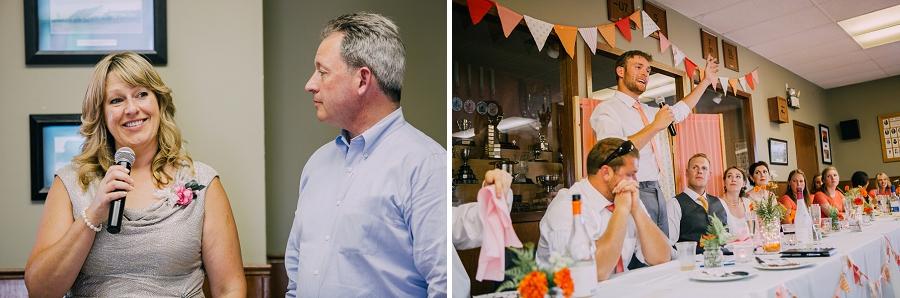 speeches from family millarville farmer's market rustic wedding alberta calgary photographer anna michalska